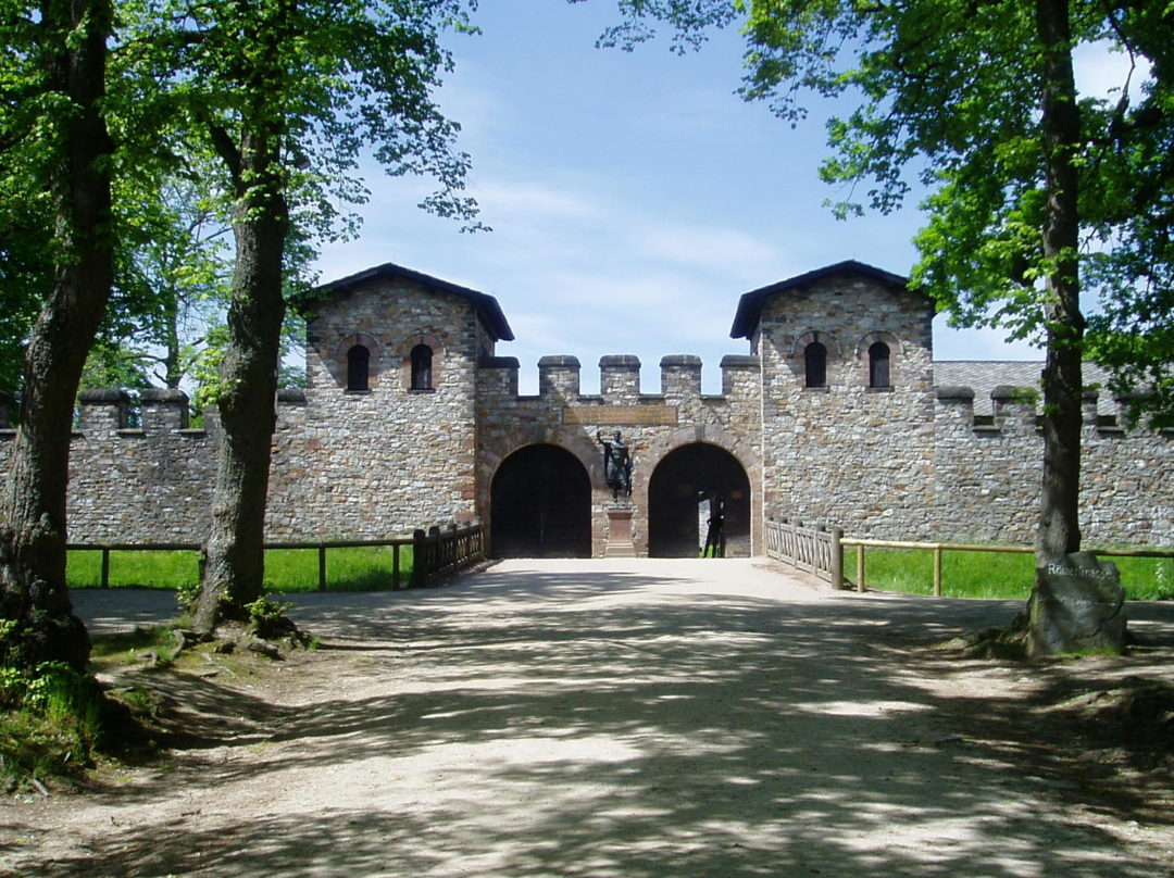 Kastell Saalburg, Porta Praetoria (UNESCO-Weltkulturerbe)