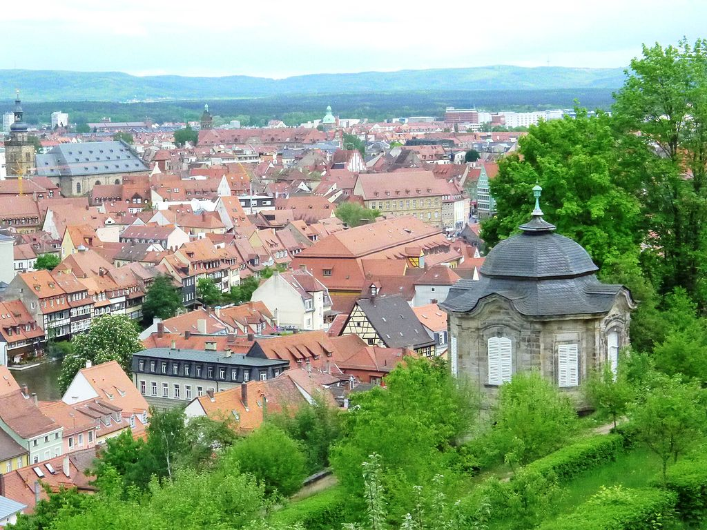 Altstadt Bamberg. UNESCO-Weltkulturerbe